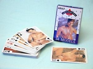 Игральные карты с мужчинами сексуальные