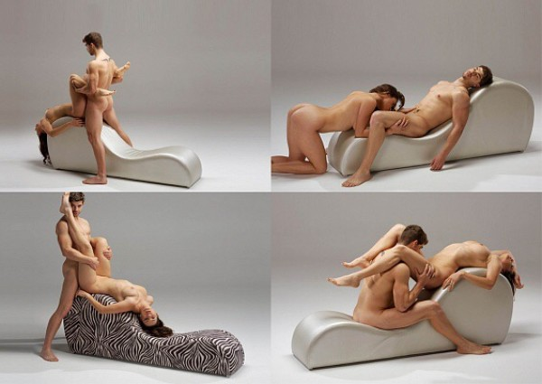 Его кресло для занятием сексом белом