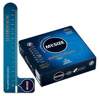 """Узкие и короткие презервативы """"MySize"""" 49 мм"""