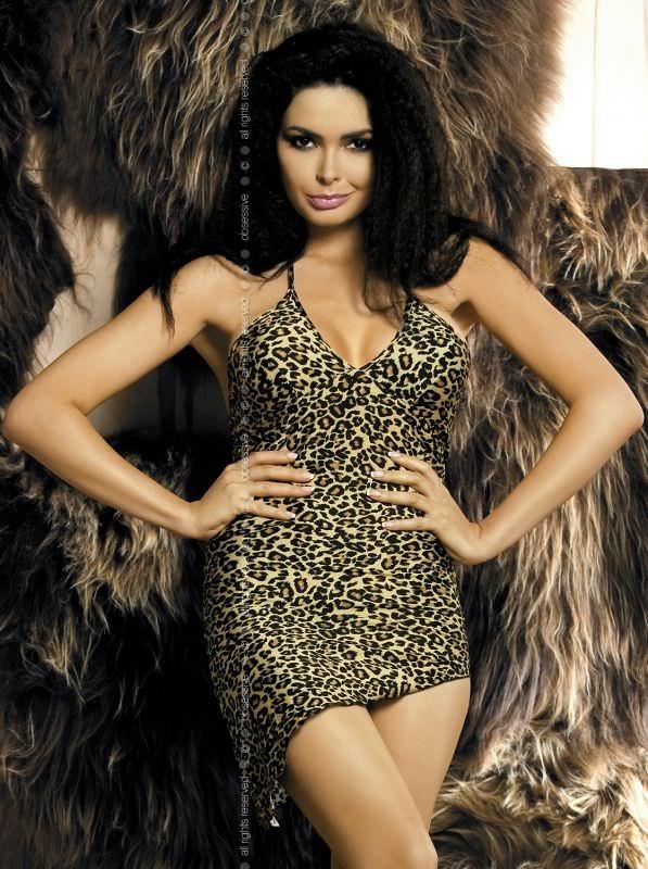 Фото дам в леопардовом белье 9 фотография