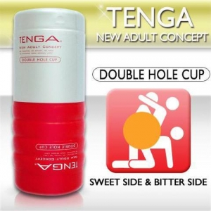 Tenga «Double Hole» - нереалистичная попка и вагина